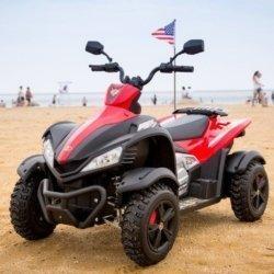 Электроквадроцикл Cross M111MP красный (АКБ 12v 10ah, колеса резина, многорычажная подвеска, музыка)